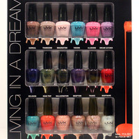 NYX limited edition 18 pcs nail polish set-Living in a Dream NPSET01