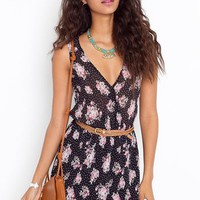 Simone Floral Dress in  Clothes Dresses at Nasty Gal