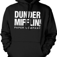Amazon.com: Dunder Mifflin Paper Inc Sweatshirt, The Office Hoodies, TV show Sweatshirts: Clothing