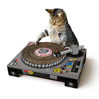 ThinkGeek :: Cat Scratch DJ