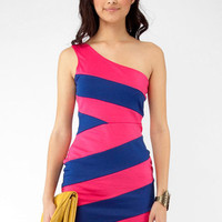 Party in the Club Dress in Fuchsia :: tobi