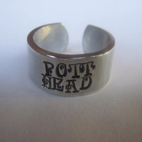 "Pott Head"" ring Harry Potter inspired R71"