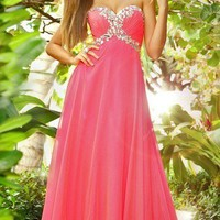Stunning chiffon formal prom dress/evening dress