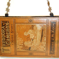Book Purse / Book Clutch from Vintage Book by RokkiHandbags
