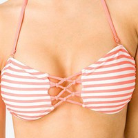 Knotted Bandeau Bikini Top | FOREVER 21 - 2040495072