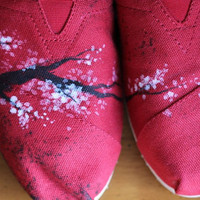 Cherry Blossom Custom Toms
