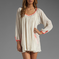 Basta Surf Capri Mini Dress in Ivory/Coral from REVOLVEclothing.com
