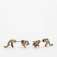 Urban Outfitters - Roaring Front/Back Earring