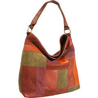 Lucky Brand Sunset Junction Patchwork Slouch Hobo Multi - 6pm.com