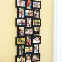 Amazon.com: 21-Photo Collage Frame (Black): Home &amp; Kitchen