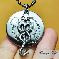 Harry potter NecklaceDumbledore&#x27;s Army and Snake by Shininggift