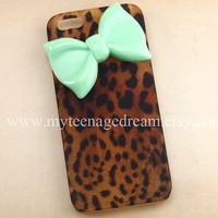iphone 5 case leopard cases for iPhone 5 cheetah by MyTeenageDream