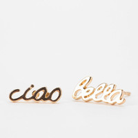 Urban Outfitters - A Little Love Earring