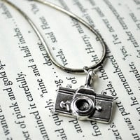 Camera Necklace by KellyStahley on Etsy