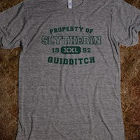 Slytherin Quidditch Athletics - Fantasy at it's Finest