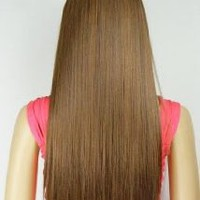 Straight or Curly 3/4 Full Head Clip in Remy Hair Extensions One Piece 5 Clip Ins
