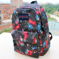 TuT TuT Fashion — Galaxy Jansport Backpack