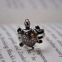 Turtle Ring by KellyStahley on Etsy