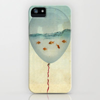 balloon fish iPhone Case | Print Shop