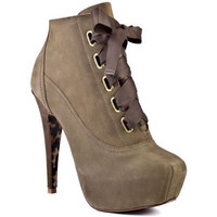 Betsey Johnson's Grey Tales - Grey for 169.99 direct from heels.com