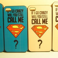 TuT TuT Fashion — Superman Iphone4/5case