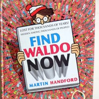 Vintage Find Waldo Now Book by Martin Handford 1988