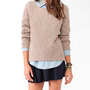 High-Low Slub Knit Sweater | FOREVER 21 - 2030432604