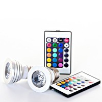 Amazon.com: Fun-Max Multicolor LED Light 16-Color Bulb Set with Remotes: Home Improvement