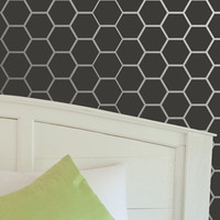 Wall Stencil Honeycomb Allover Stencil for Elegant DIY Wall Decor