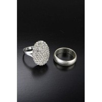 "Amazon.com: Twilight Breaking Dawn ""Bella's"" Engagement Ring and Wedding Band Set: Clothing"