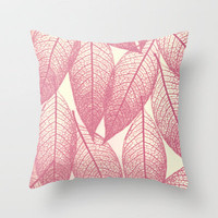 gentle mood Throw Pillow by Marianna Tankelevich | Society6