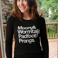 Marauder's long sleeve women's by evietees on Etsy