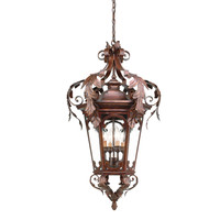 Corbett Lighting Regency Hanging Lantern in Regency Bronze