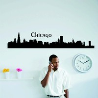Chicago Skyline Wall Decal