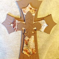 Camo Themed Cross