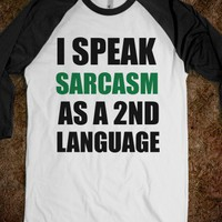 C - Sarcasm (2nd Language)