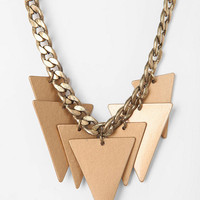 Urban Outfitters - Hawthorne Triangle Necklace