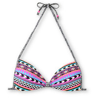 Empyre Girls Tribal Lines Molded Bandeau Bikini Top