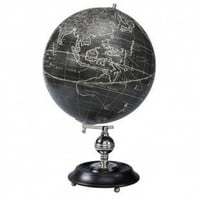 Authentic Models Vaugondy 1745 Noir Globe - GL041