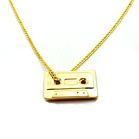 Cassette Pendant Necklace