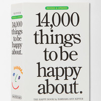 Urban Outfitters - 14,000 Things To Be Happy About By Barbara Ann Kipfer