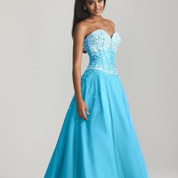 Night Moves 6693 at Prom Dress Shop