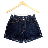 90's Gap high waist denim shorts size - S