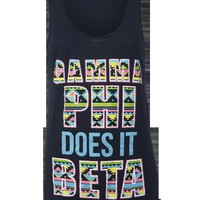 Adam Block Design  » Gamma Phi Beta Tribal Tank