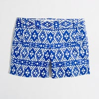 "Factory 5"" printed stretch chino short"