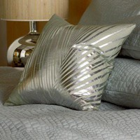 Blissliving Home Rivo Alto Pillow in Silver - BL67033