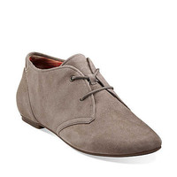 Valley Tree in Mushroom Suede - Womens Shoes from Clarks