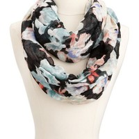 Abstract Floral Infinity Scarf: Charlotte Russe