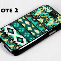 Tribal Ethnic Pattern Samsung Galaxy Note 2 Hard Case