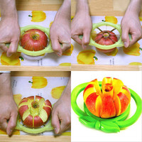 Creative Multi-function Stainless Cut Apple Slicer No Nuclear For Two